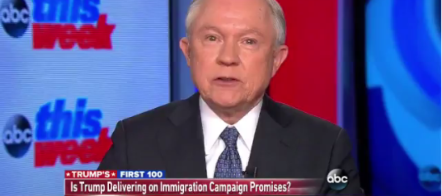 Video: Jeff Sessions stands firm, tells one sentence about the Mexican border wall that leaves Americans guessing
