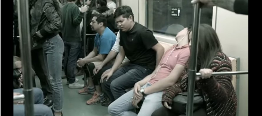Mexico City Installs 'Penis Seat' On Subway To Draw Attention To Sexual Harassment [VIDEO]