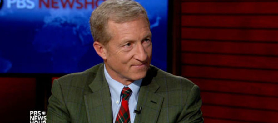Leftist Billionaire Tom Steyer Outspends Soros