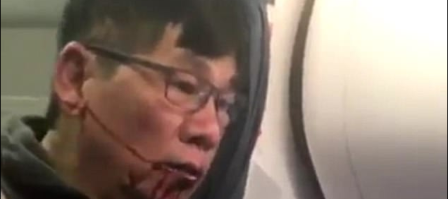 United Airlines Security Reps Beat Customer For Refusing To Give Up Seat For An Airline Employee [VIDEO]