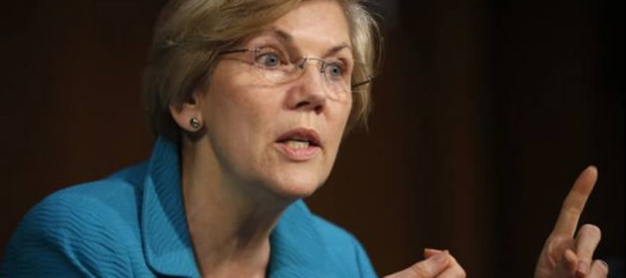 DING, DING! Elizabeth Warren Wins the Prize for Stupidest Reaction to the MOAB [VIDEO]
