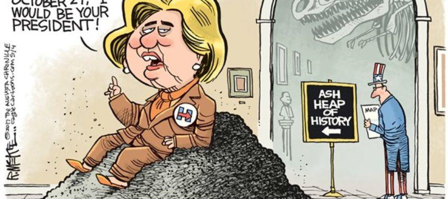 Hillary History (Cartoon)