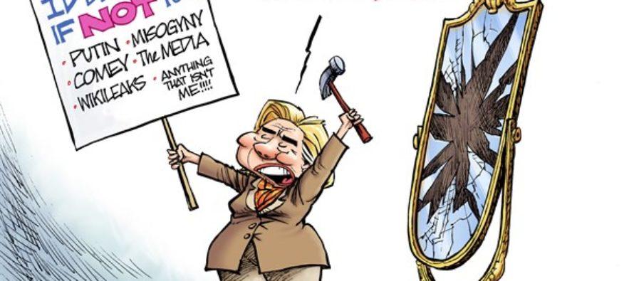Hillary Resists (Cartoon)
