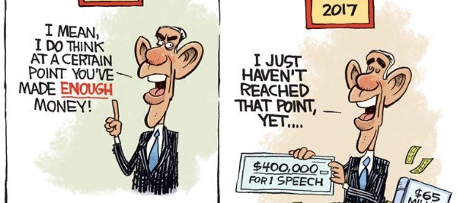 Obama Money (Cartoon)