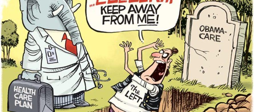GOP Health Care (Cartoon)