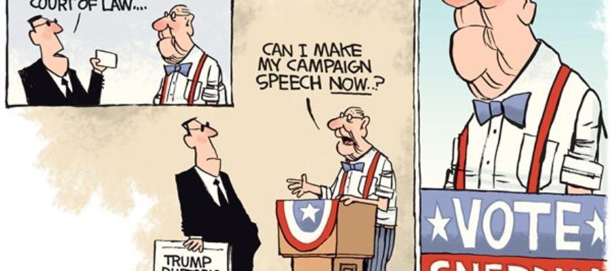 Travel Ban Rhetoric (Cartoon)