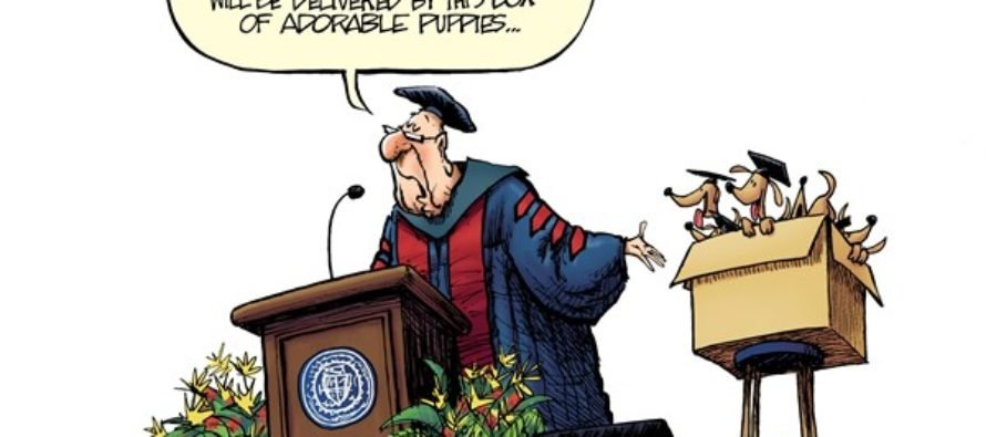 Graduation Speaker (Cartoon)