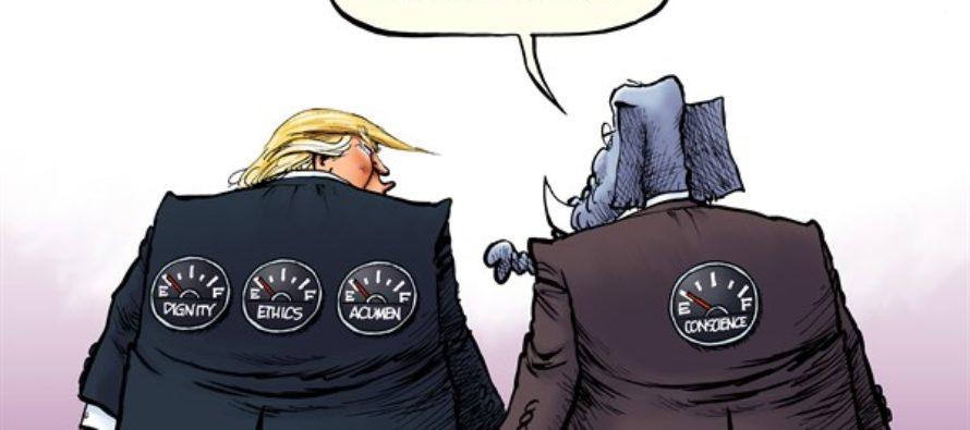 Trump Constitution (Cartoon)