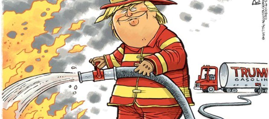 White House Fire Dept (Cartoon)