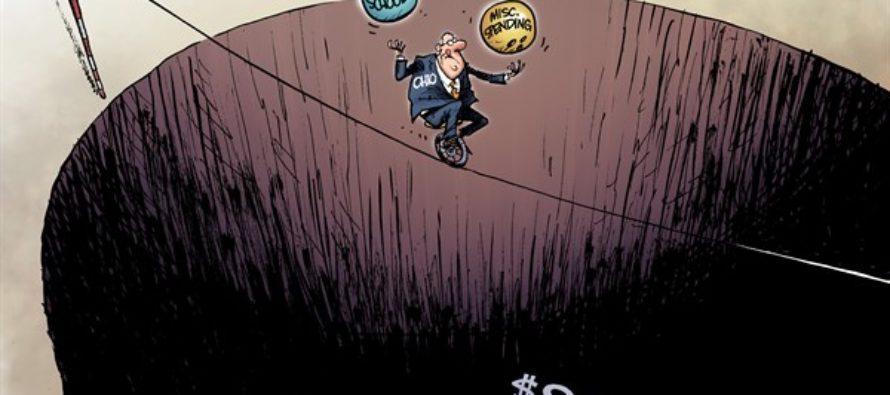 LOCAL OH Budget Hole (Cartoon)
