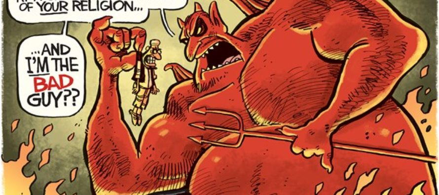 Manchester Devil (Cartoon)