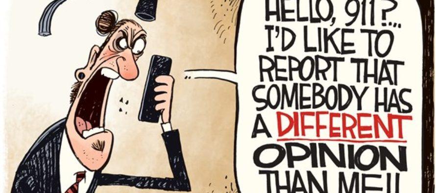 Intolerant Grads (Cartoon)