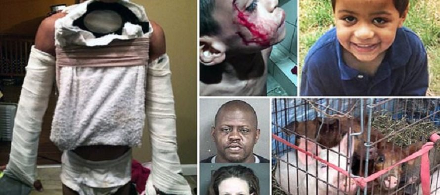 Evil father of 7 year-old who starved him and fed his dead body to pigs faces justice [VIDEO]
