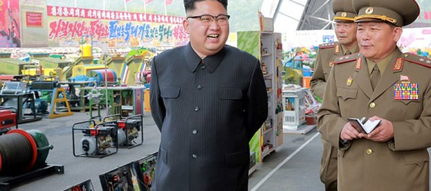 Kim Jong-Un Launches Another Ballistic Missile That Lands 60 Miles From Russia