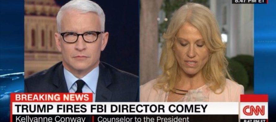 Anderson Cooper Of CNN *EYEROLLS* Kellyanne Conway – Liberals Cheer At The Sexism [WATCH]