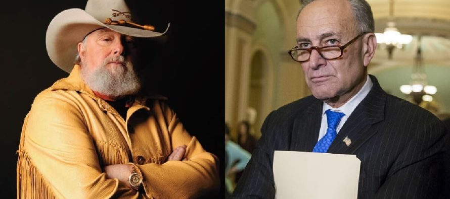 BOOOM! Charlie Daniels Slings Outlaw-Style INSULT Straight At Chuck Schumer