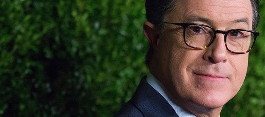 Stephen Colbert Responds To Raging Firestorm Surrounding His Homophobic Slur – NO REGRETS