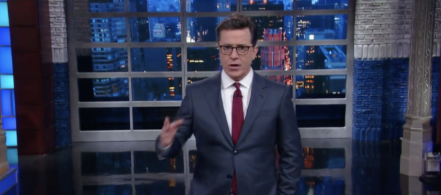 Calls for Colbert to be REMOVED from CBS Catching Steam [VIDEO]