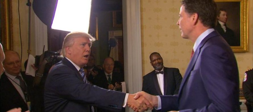 JUST IN: Trump Breaks Silence After Firing Comey