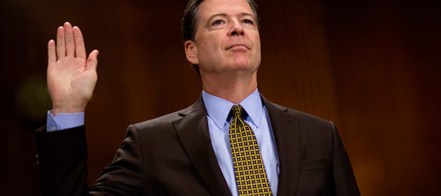 Explosive Story: Comey Could Easily Get $10M Book Deal After Clinton, Trump Matters