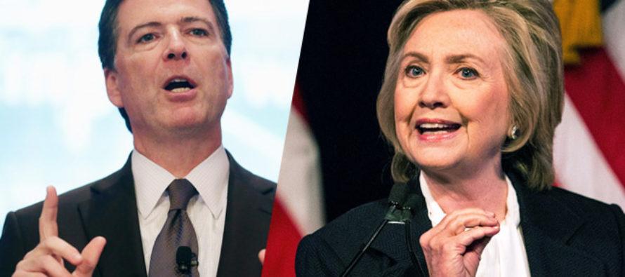 BOMBSHELL REPORT Shows Dark Ties Between Hillary, Comey