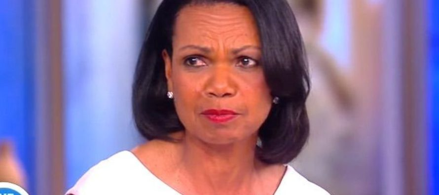 """AWESOME! """"The View"""" Tried To Corner Condi Rice But It BACKFIRED Big Time – WATCH!"""