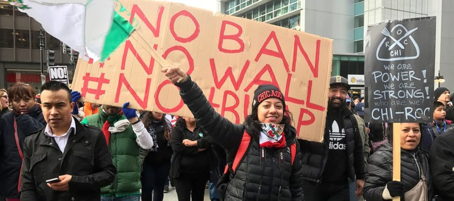 Immigrant Workers Are Stunned When They're Fired After Skipping Work For Protest