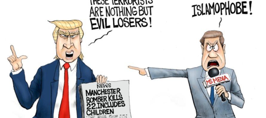 Evil In Manchester (Cartoon)
