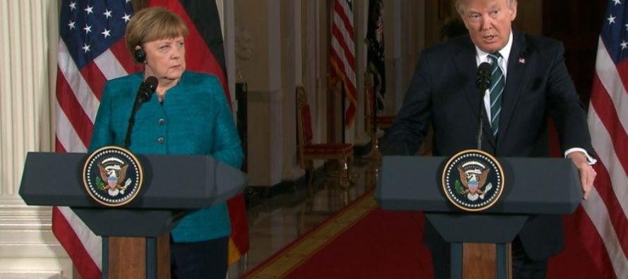 BOOM: Trump Drops the Hammer on Germany's Chancellor Merkel