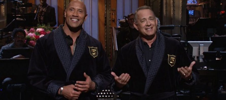 Dwayne Johnson and Tom Hanks announce their run for office in 2020 [VIDEO]