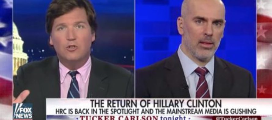 Tucker Carlson OWNS Clinton Adviser Who Whined That Media Needs To 'Apologize' To Hillary For 2016 Loss! [VIDEO]