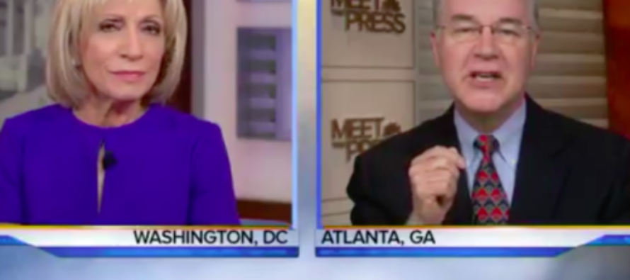 Andrea Mitchell GOES OFF: 'You Have White Men Cutting Healthcare for Women' [VIDEO]