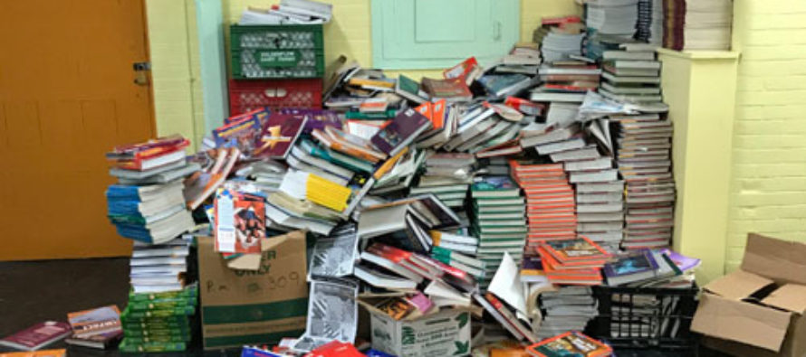 New York City Public School Throws Out Its Books