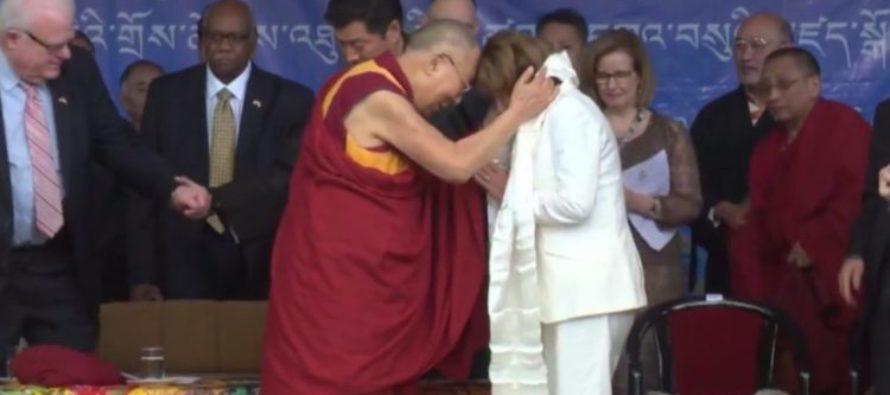 NANCY PELOSI: 'The Dalai Lama Prayed For Me To Get RID Of My Negative Attitude' [VIDEO]