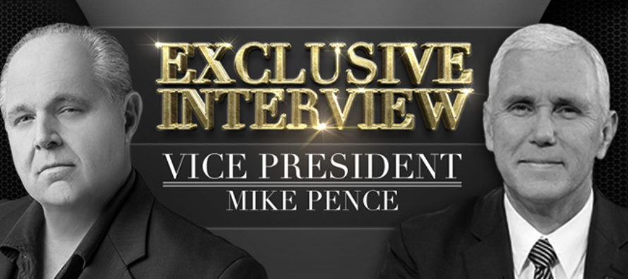 Rush Limbaugh CONFRONTS Mike Pence: You Were Sent There to Drain the Swamp