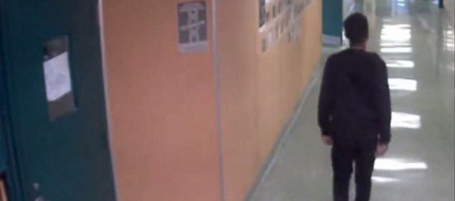 Harrowing moment a school employee lifts high school student by the neck [VIDEO]