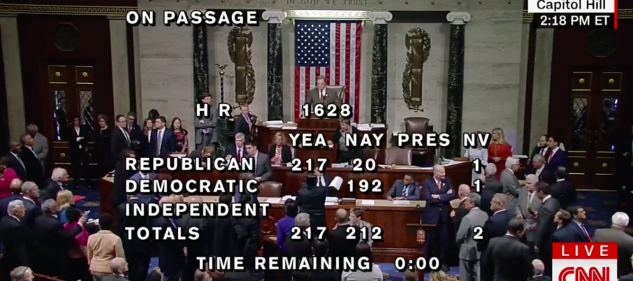"""House Floor BURSTS Out Singing """"Na Na Hey Hey Goodbye"""" As American Healthcare Act Passes [VIDEO]"""