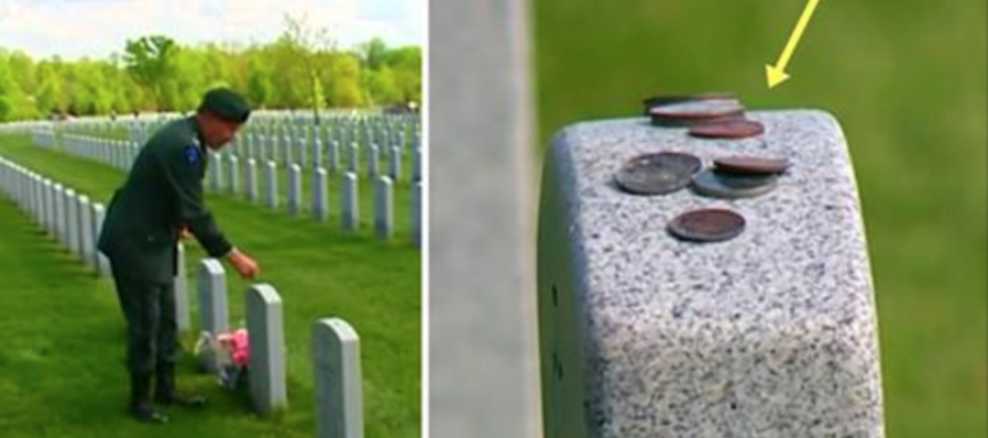 If You See Coins Laying on Military Graves, DON'T Touch Them – Instead, Do This… [VIDEO]