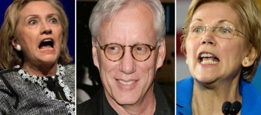 James Woods smashes Hillary Clinton with Elizabeth Warren and it's beautiful