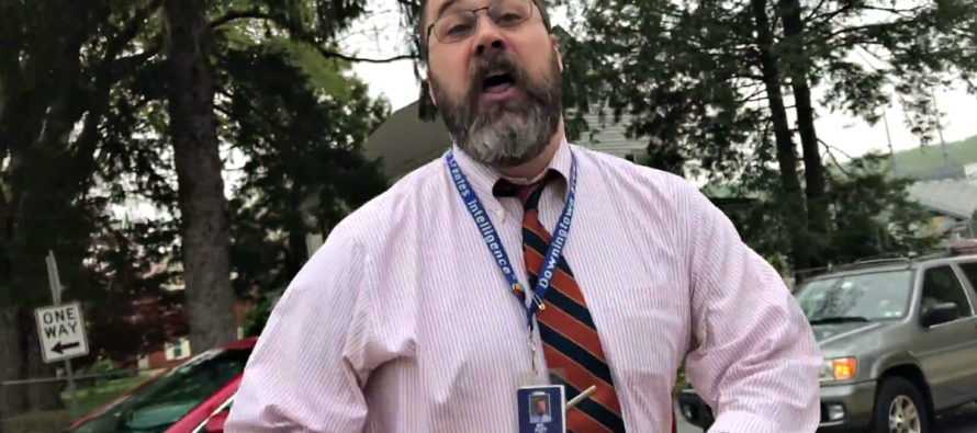 """Principal who told Christians """"I Don't Give a F*** what you think Jesus tells me"""" finally resigns [VIDEO]"""