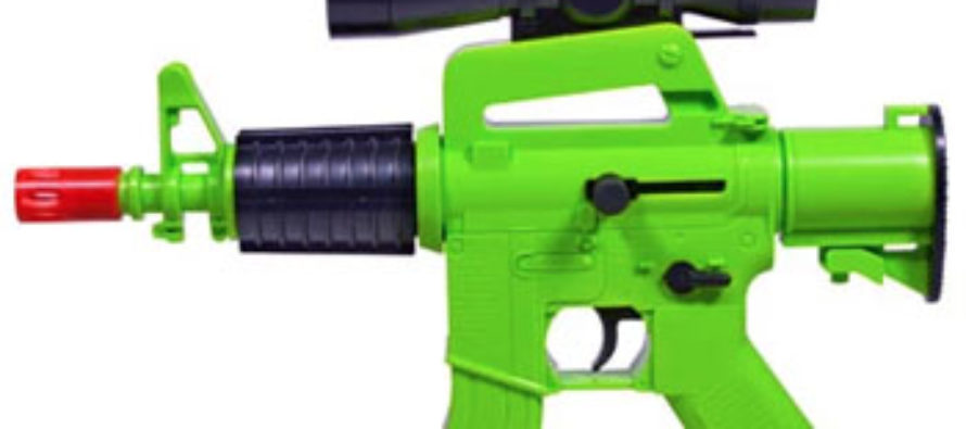 Suspended for Liking Picture of Airsoft Gun