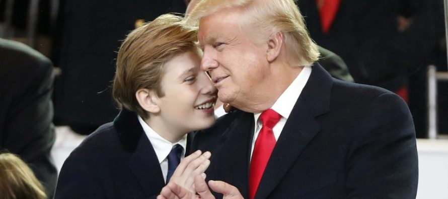 Barron Trump Thought Beheading Image Was Really His Dad