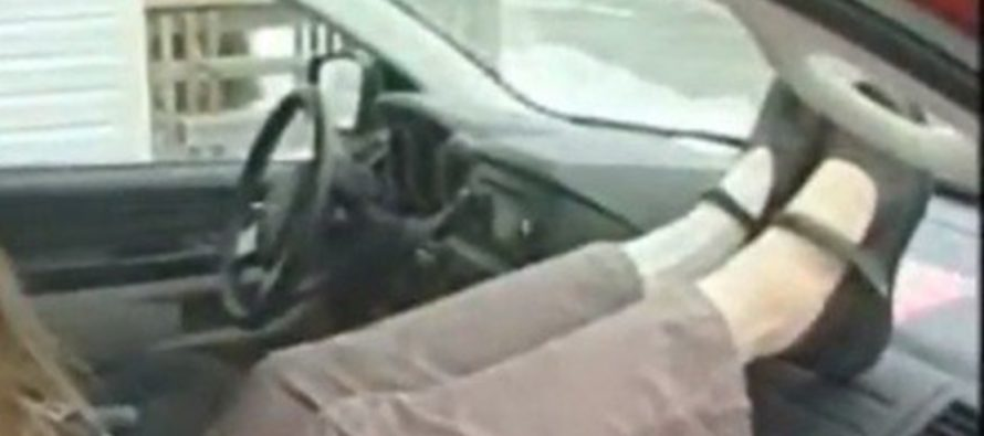 She Was Just Putting Her Feet on the Dashboard — One of the Biggest Mistakes of Her Life