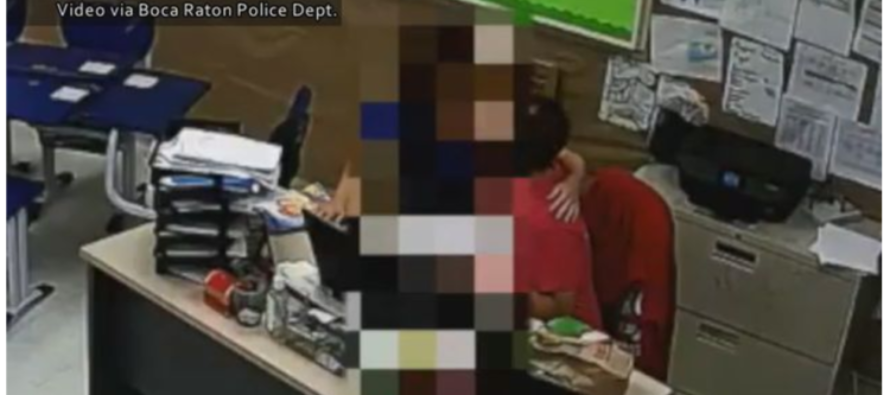 SHOCKING Footage Released By Police – Florida Teacher Kissing 10 Year-Old Student [VIDEO]