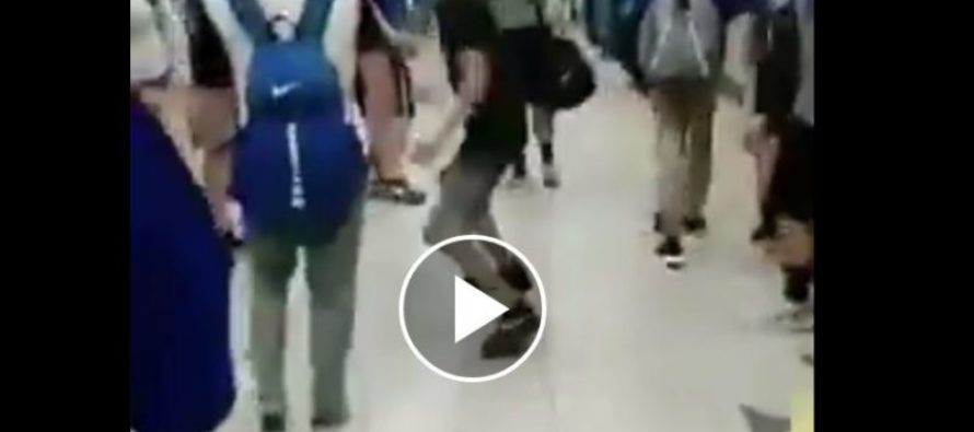 Fight Video: Bully Picks On Smaller Kid & Receives a Vicious Body Slam