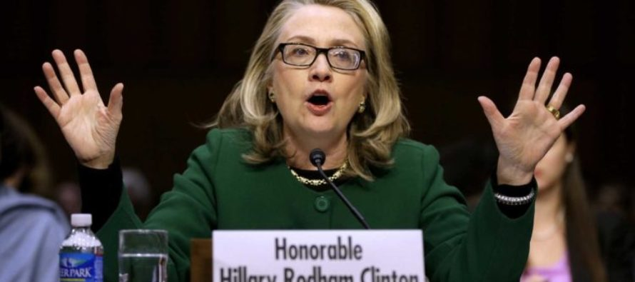 BREAKING: Federal Judge Orders Gov't To Search Emails Of Clinton Aides For Benghazi Records