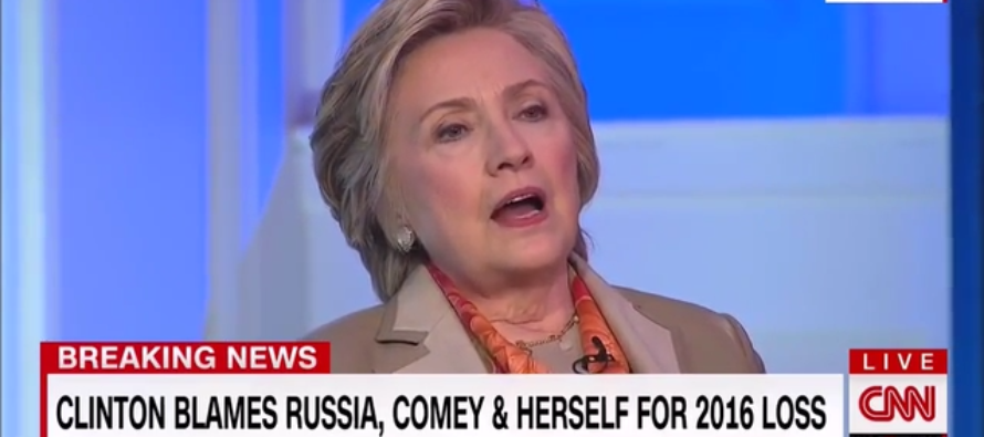 Hillary: 'I Was on the Way to Winning,' Until Comey Letter & WikiLeaks 'Scared Off' the Voters [VIDEO]