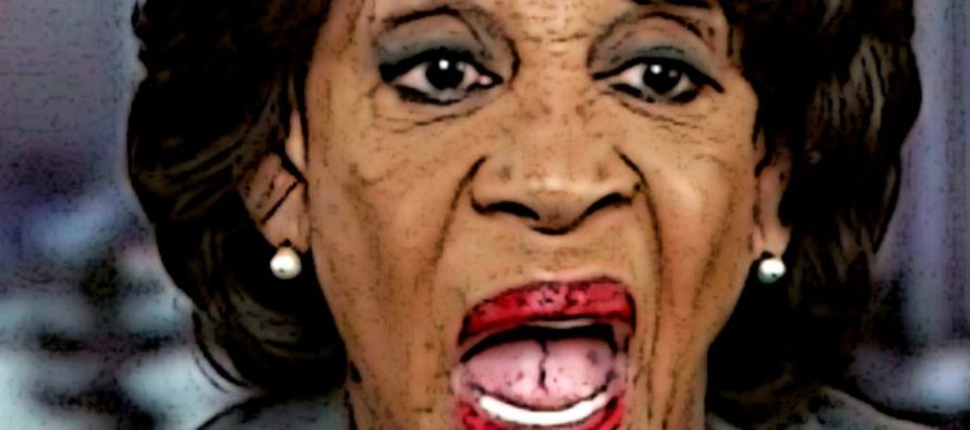 Bummer: Maxine Waters Forced To Again Admit There's No Evidence