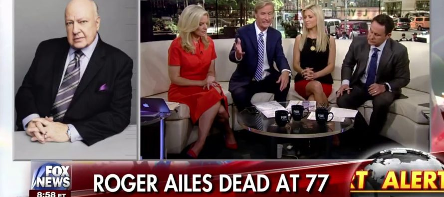 FOX HOSTS React To Death Of Roger Ailes Lose ALL Composure On LIVE TV [WATCH]