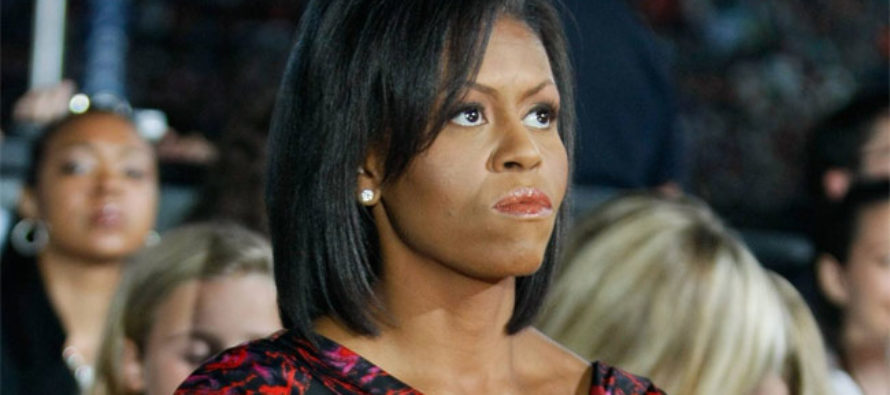 Michelle Obama Has Snit Fit Over Changes To School Lunch Program